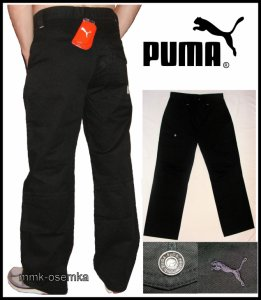 spodnie bojówki męskie puma