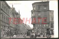 SZCZECIN Stettin ulica Mnisza tramwaj 1909