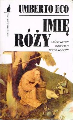 Znalezione obrazy dla zapytania Umberto Eco : Imię róży 1996