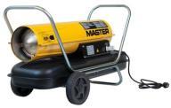 Nagrzewnica olejowa MASTER B 150 CED, o mocy 44 kW