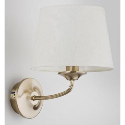 Lampa kinkiet abażur patyna SELVA 1 pł 21430 ALFA