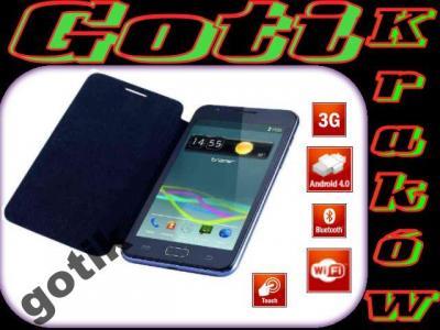 Smartfon 5'' Tracer OXYGEN GS1 GPS DUAL SIM Etui