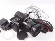 Aparat Sony Alpha 55 + obiektyw 28-80mm