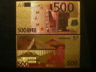 USA - 500 EURO BANKNOT KOLEKCJONERSKI