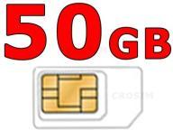NIEMIECKI INTERNET UE LEBARA 50GB _ 4 TYGODNIE