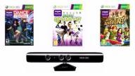 KINECT SENSOR XBOX 360 + 3 Gry!!! + Gwarancja 1Rok