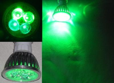 Green Light Nocne Oświetlenie Roślin żarówka Led