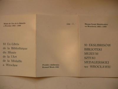10 ekslibrisów Muzeum Sztuki Medalierskiej Wrocław