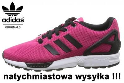 adidas zx flux damskie białe allegro