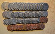 Malezja - 105 monet mało powtórek - BCM