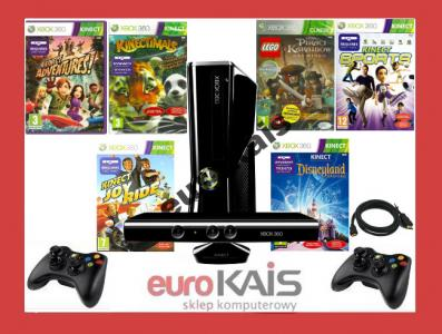 Konsola Xbox 360 250gb Kinect 2pady Disney Lego 2996280493 Oficjalne Archiwum Allegro