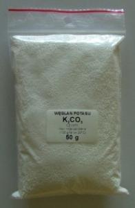 K2CO3 (węglan potasu) czystość do 99,99%