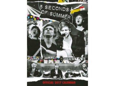 5SOS 5 Seconds of Summer - kalendarz 2017