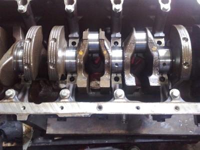 WAŁ KORBOWY nominalny z BMW silnik M50b25nv