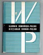 red.Reychman - SŁOWNIK RUMUŃSKO-POLSKI wyd.1970