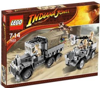 Lego Indiana Jones 7622 Wyścig Po Skradziony Skarb 6392734917