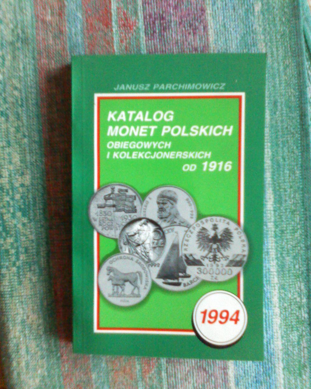Katalog monet polskich od 1916r