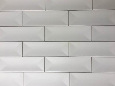 Płytki Kafle Białe 10x30 Cegiełka Favaro Nowość 6619136634