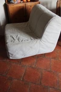 Ikea Lycksele Fotel Rozkładany 1 Osobowy łóżko