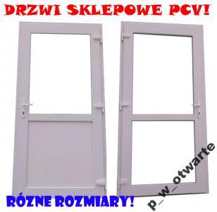 Drzwi zewnętrzne PCV!! Sklepowe! Profil 6-komorowy