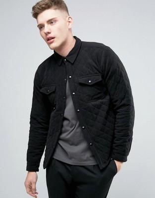 Męska bluza koszula pikowana M V!!16 6901555556  GbhGA