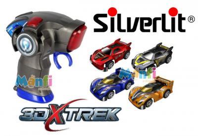 SILVERLIT 3D XTrek SAMOCHÓD Auto + PILOT 82382