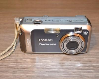 Canon PowerShot A450 - dawca części