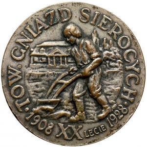 1789. Medal Tow. Gniazd Sierocych 1908-1928