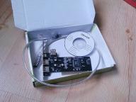 4World Kontroler PCI FireWire 1394a (3+1)