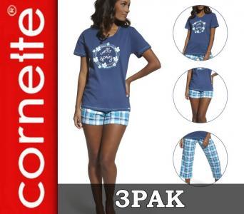 a71e5d0f56a32d Piżama damska CORNETTE 665/37 +spodnie GRATIS r. M - 5480334224 ...