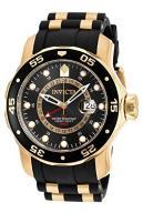 Invicta Men's Pro Diver Quartz Watch with Black Di