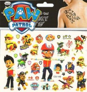 Psi Patrol Zmywalne Tatuaże Naklejki 6341719516