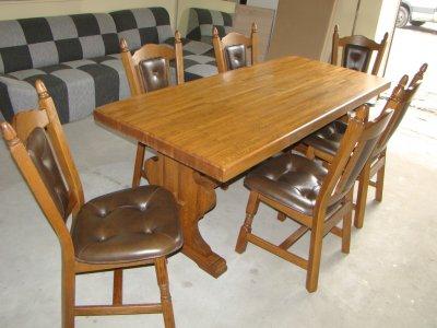 Stół Dębowy Z Krzesłami Bezpłatna Dostawa 6122863321