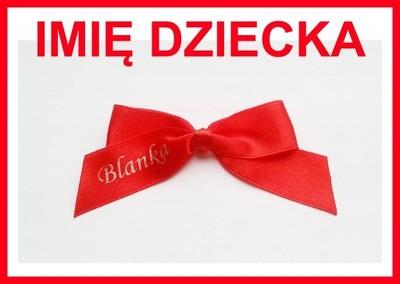 Kokardka Na Wozek Czerwona Kokarda Imie Hit 6858055682 Oficjalne Archiwum Allegro