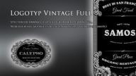 Logotyp / Logo firmowe / Vintage Full
