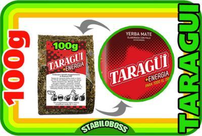 Yerba Mate TARAGUI ENERGIA energy 100g STABILOBOSS