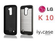 Etui LG K10 Motomo Srebrny Pancerny Case