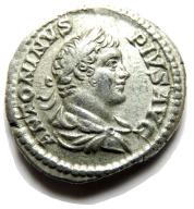 AC - KARAKALLA (198-217), denar, 205, SALUS! ++