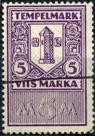 C. Estonia - tempelmark - 5 M