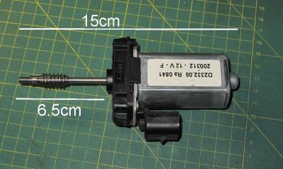 ! silnik silniczek 12V b.mocny SME z przekładnią