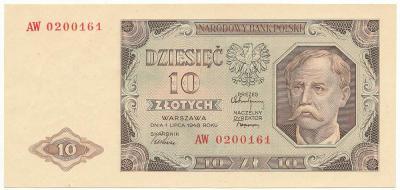 2575. 10 zł 1948 - AW - st.1/1-