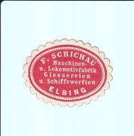 Zalepka - Elbląg, Elbing, F. Schichau, -833