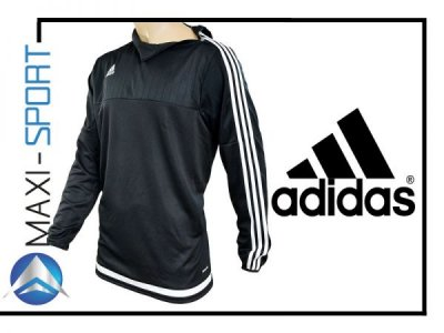 BLUZA ADIDAS TIRO 15 TRAINING TOP CZARNA S22339