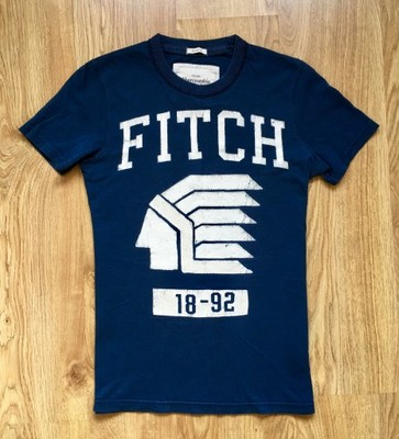 ABERCROMBIE & FITCH - SLIM NAVY CASUAL - S