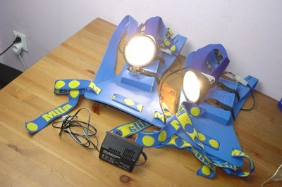 MILA lampa czołowa latarka  speleologiczna