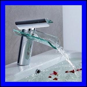 Kúpeľňová batéria AuraLum GLASS WATERPAD