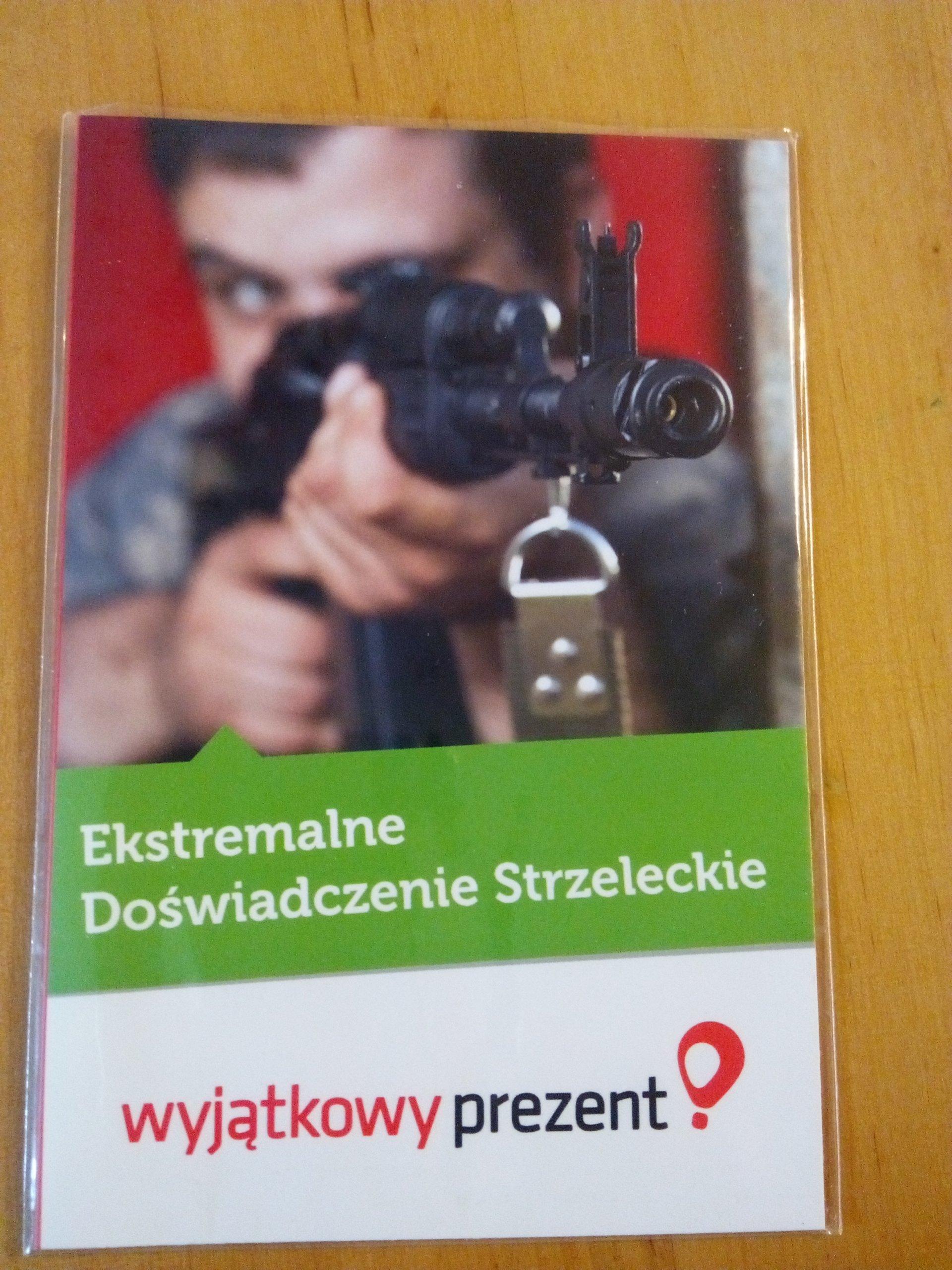 Ekstremalne doświadczenie strzeleckie