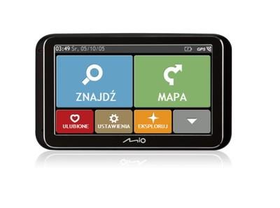 Nawigacja GPS MIO SPIRIT 6800 POLSKA 2GB ODBLOKOWA