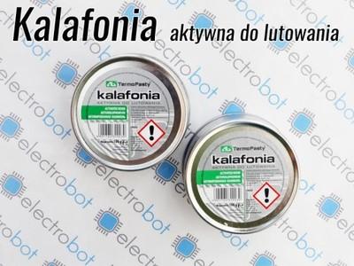 Kalafonia 100g aktywna do lutowania AG Termopasty
