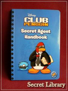 Disney Club Penguin Secret Agent Handbook 5627382424